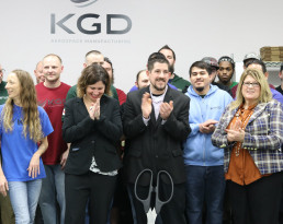 KGD Aerospace Manufacturing Ribbon Cutting